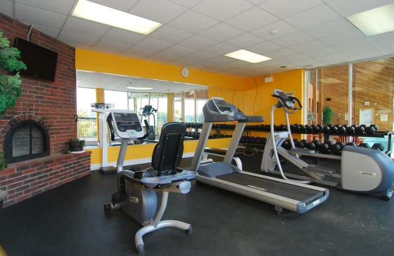 Fitness Center at Hidden Valley Resort Muskoka