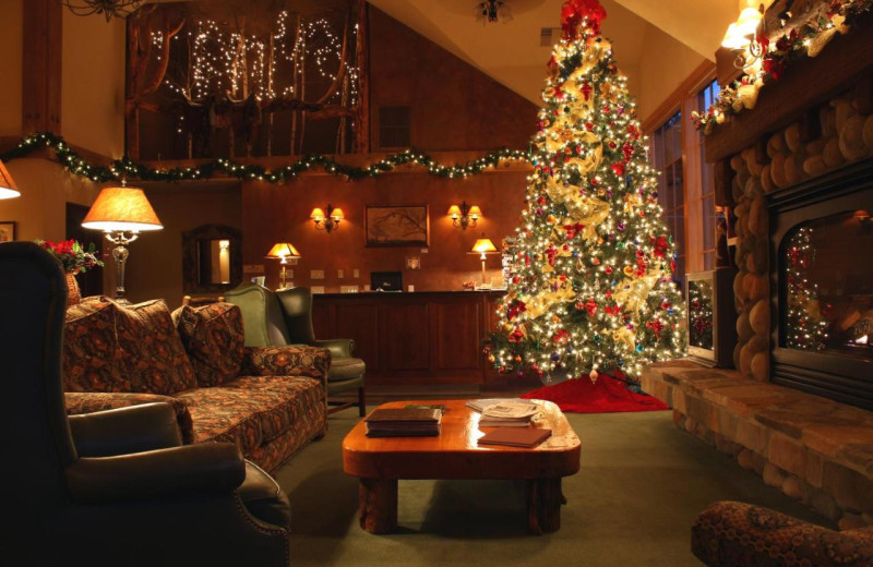 Christmas at Bigfork Mountain Lake Lodge.