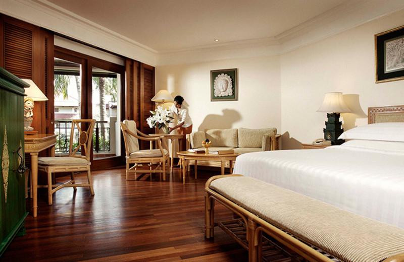 Guest room at Bali Inter-Continental Resort.