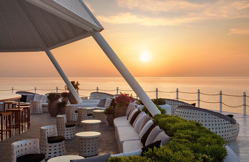 Dining at Renaissance Antalya Hotel.