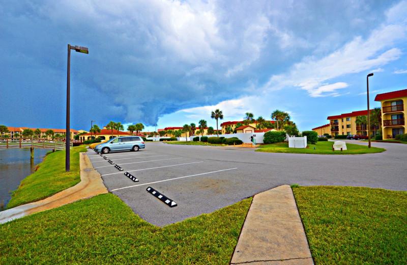 Exterior at St. Augustine Ocean & Racquet Resort.