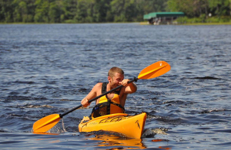 Kayaking at Big Sandy Lodge & Resort.