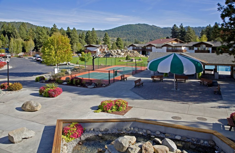 Basketball Courts at Icicle Village Resort