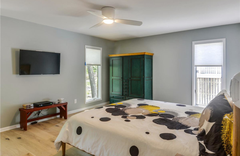 Rental bedroom at Long & Foster Vacation Rentals -Bethany Beach.