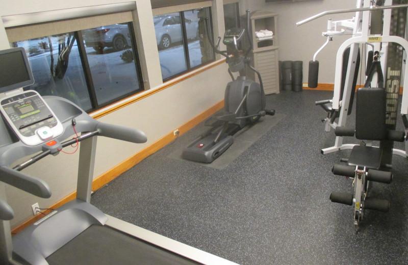 Fitness room at Best Western - Benton Harbor.