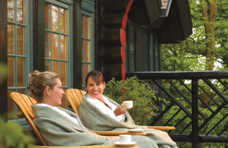 Spa at Fairmont Le Chateau Montebello.