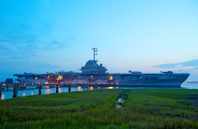 Ship museum near East Islands Rentals.