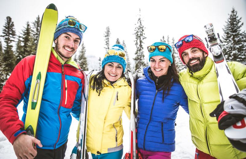 Ski at Cascade Lodge.