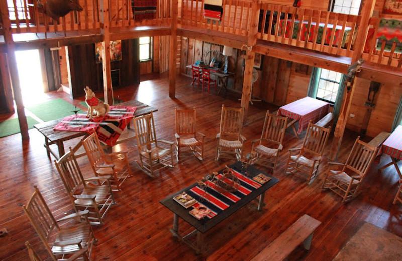 Cabin Interior at Deerwoode Lodge & Cabins