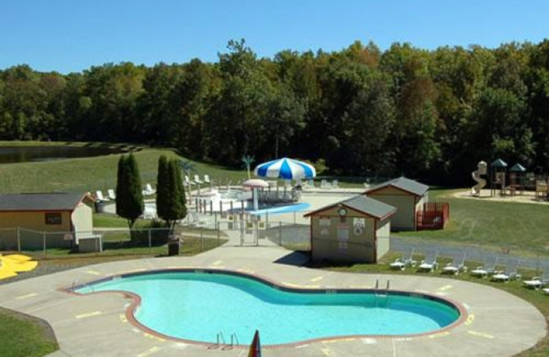 Outdoor Pool at Outdoor World Campgrounds Scotrun