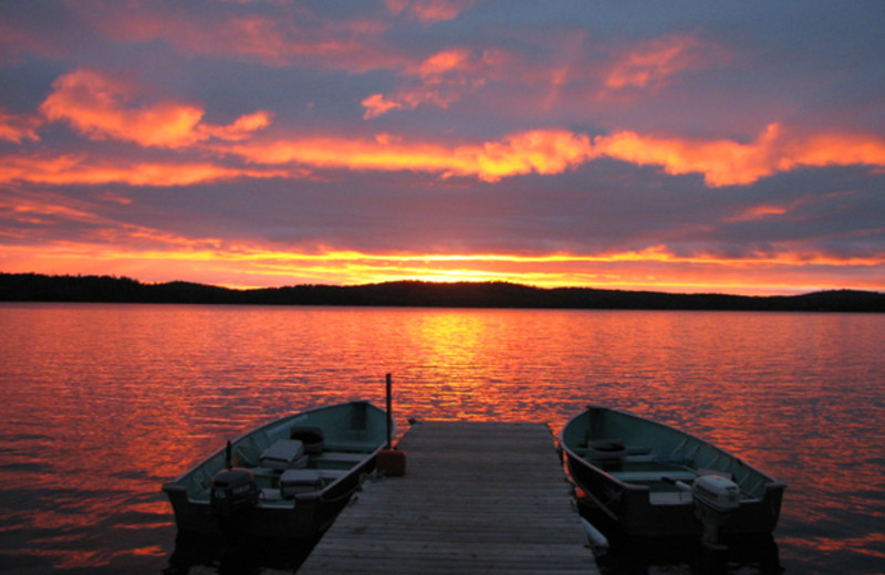 The Lake at Northern Walleye Lodge