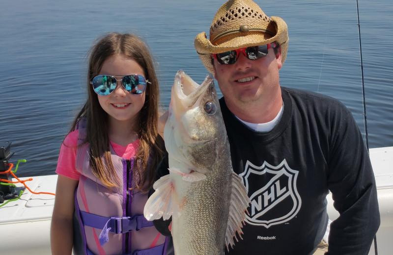 Fishing at Ballard's Resort.