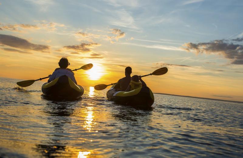 Kayaking at Oceans Edge Key West Hotel & Marina.