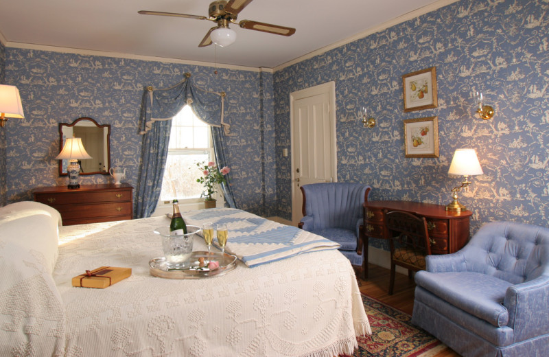 Carriage house room at Birchwood Inn.