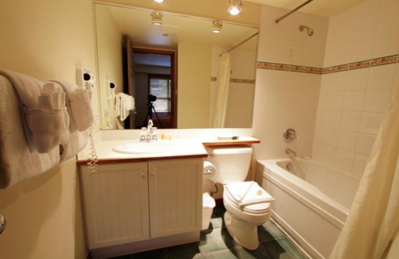Vacation rental bathroom at Whistler Premier Resort.