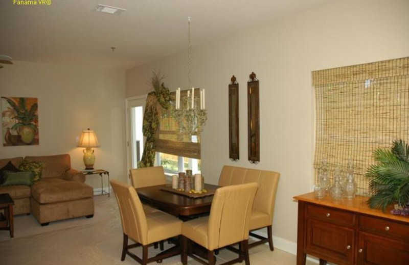 Vacation rental interior at Pelican Property Management.