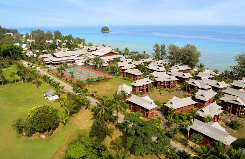 Aerial view of Berjaya Tioman Beach Resort.