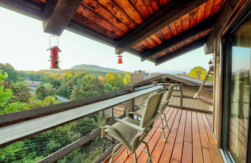 Rental balcony at Eden Crest Vacation Rentals, Inc.
