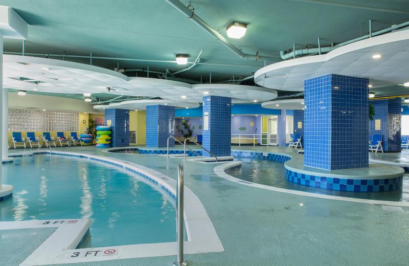 Indoor pool at Avista Resort.