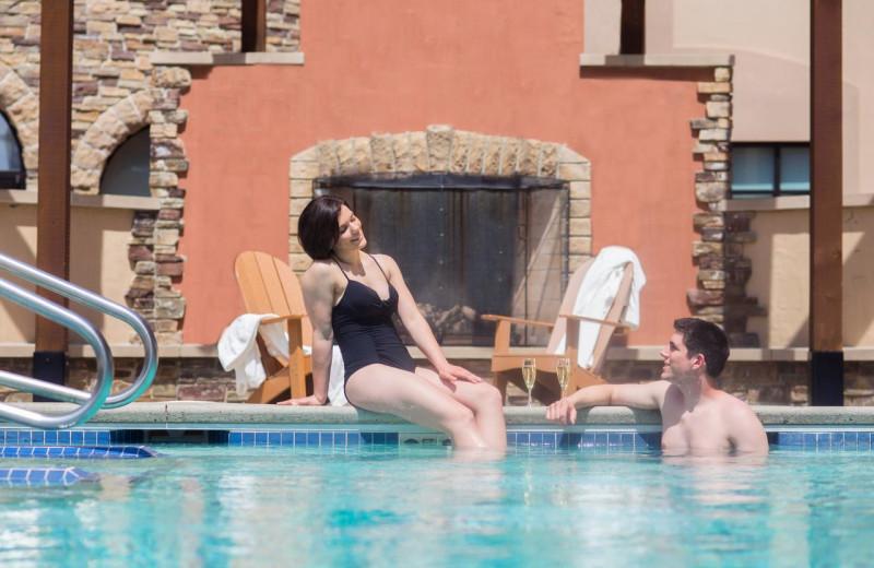 Hot springs at Chula Vista Resort.