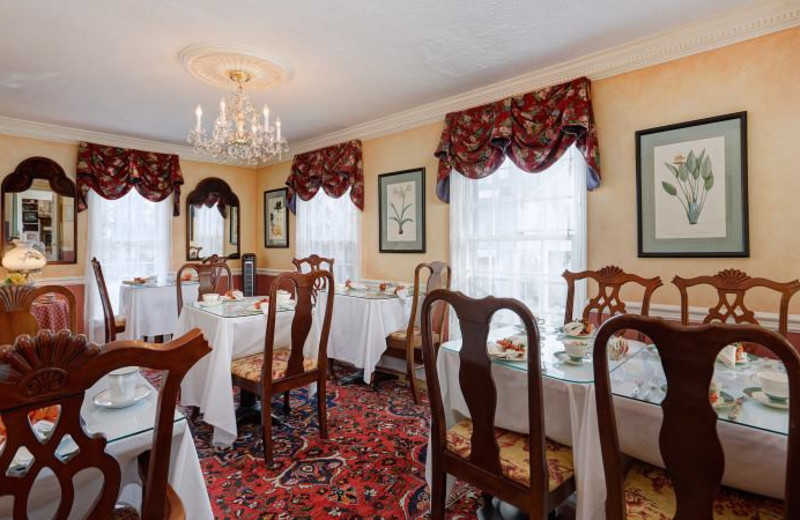 Dining at Middleburg Inn and Guest Suites.