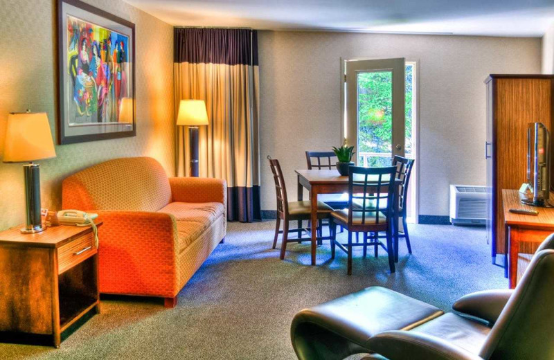 Guest room at The Woodlands.