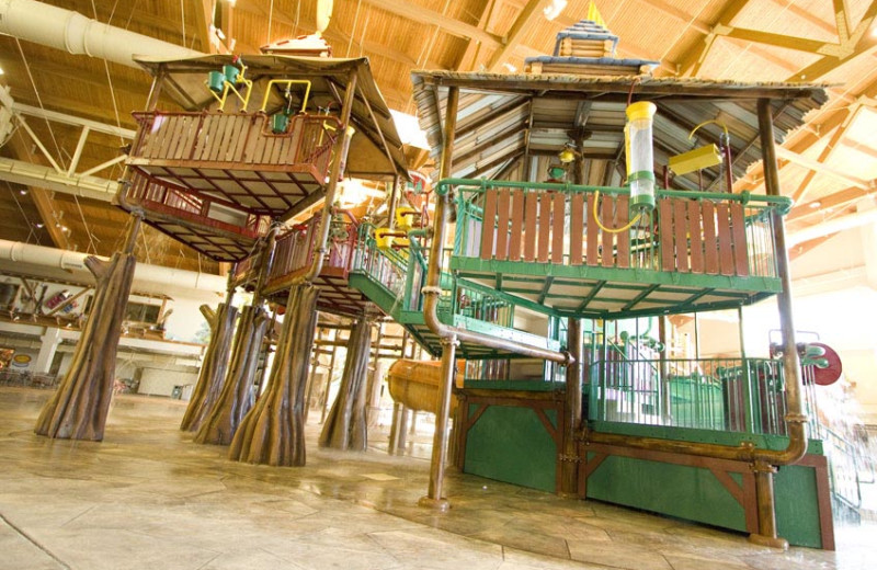 Children's playground at Great Wolf Lodge - Grapevine.