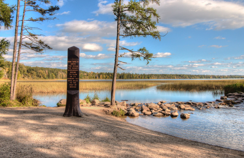 Itasca State Park near Evergreen Bay Resort.