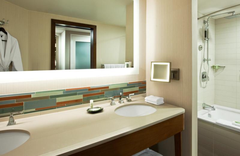 Bathroom View at  The Westin Hilton