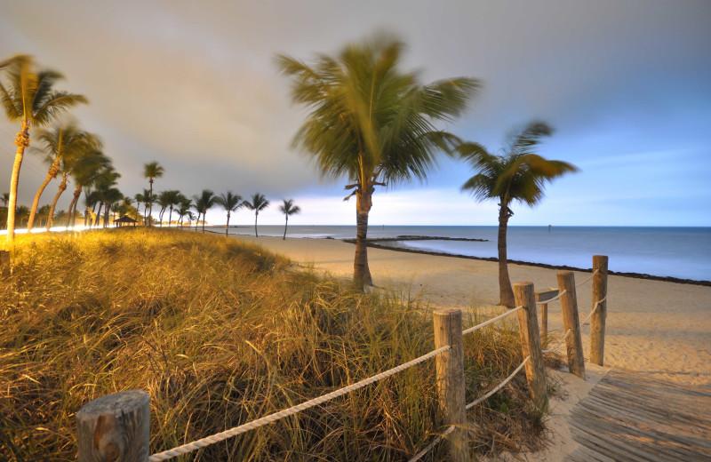Beach near Silver Palms Inn.