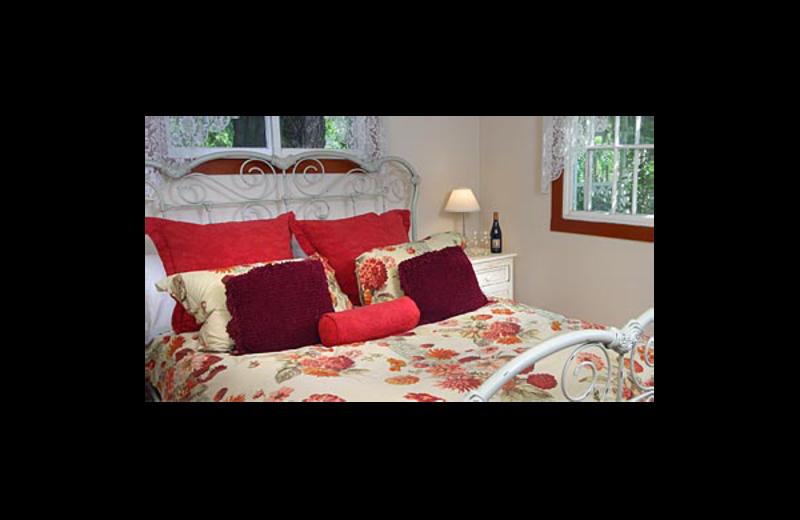 Cottage room at Bear Flag Inn.