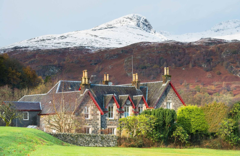 Exterior view of Dall Lodge Country House Hotel.