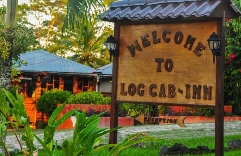 Exterior view of Log Cab-Inns.