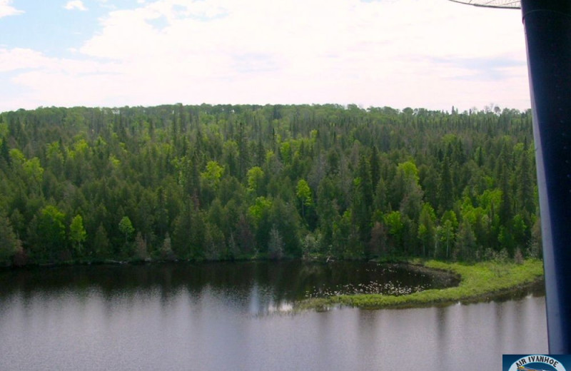 Aerial View of Air Ivanhoe Ltd Wilderness Adventures Fly-in Fishing and Lodge