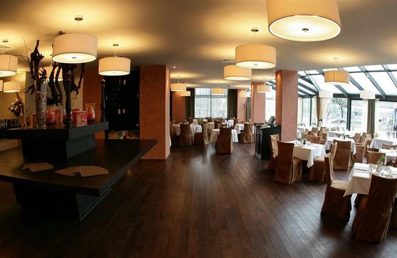 Dining at Park Inn Danube.