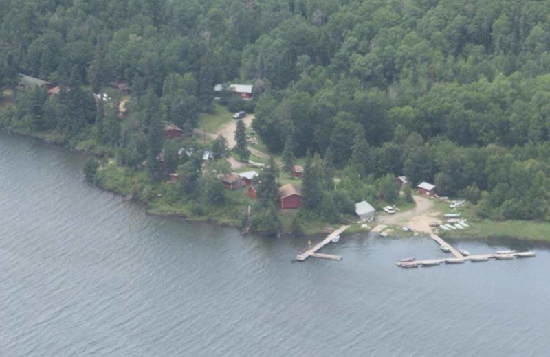 Aerial View of Big Eagle Lodge