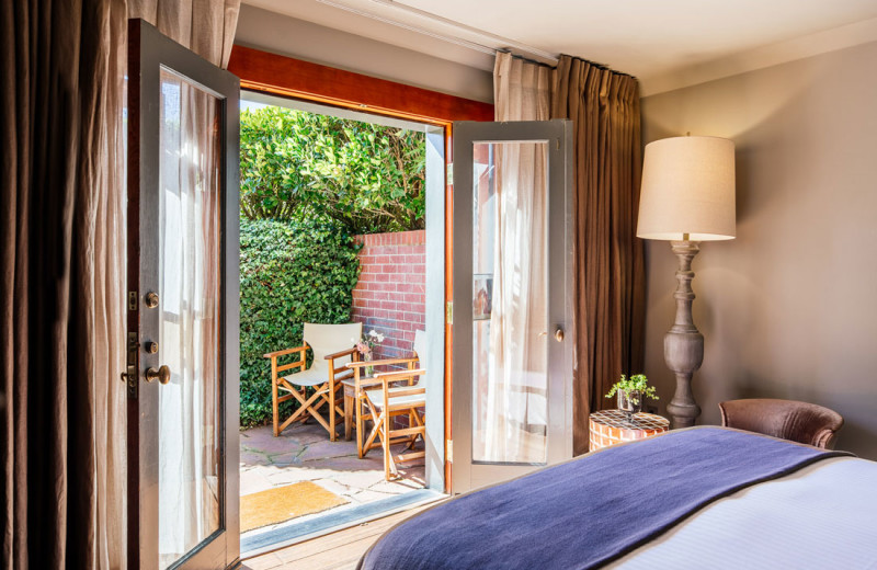 Guest room at Olema House.