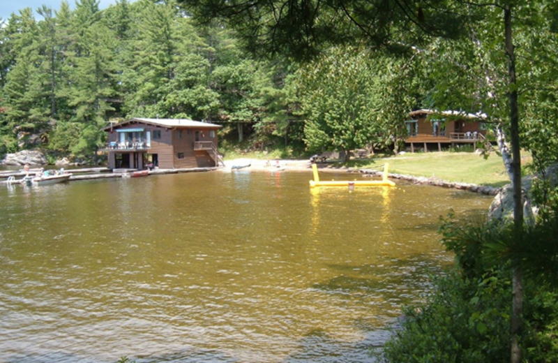 Exterior view of Paquana Cottage Resort.