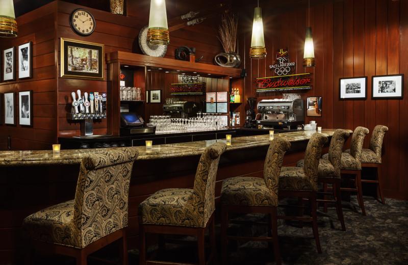 Bar at Alta's Rustler Lodge.