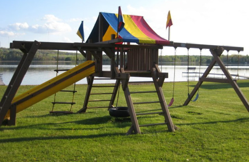 Playground at Agate Lake Resort.