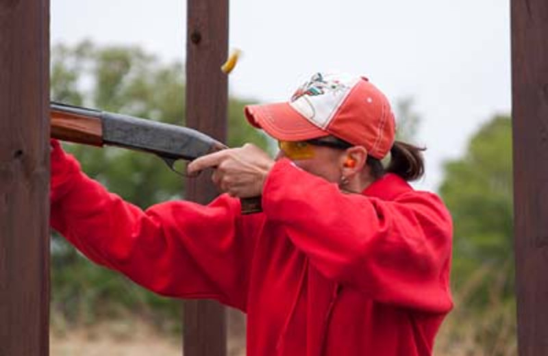 Enjoy our 15 station sporting clays course