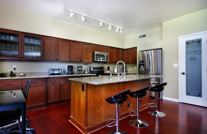 Rental kitchen at Arizona Vacation Rentals.