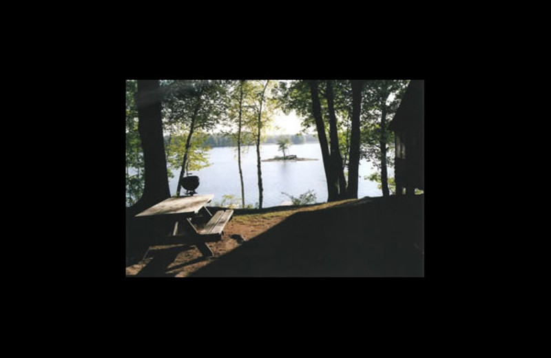Lake view at Northern Ambiance Lodge.