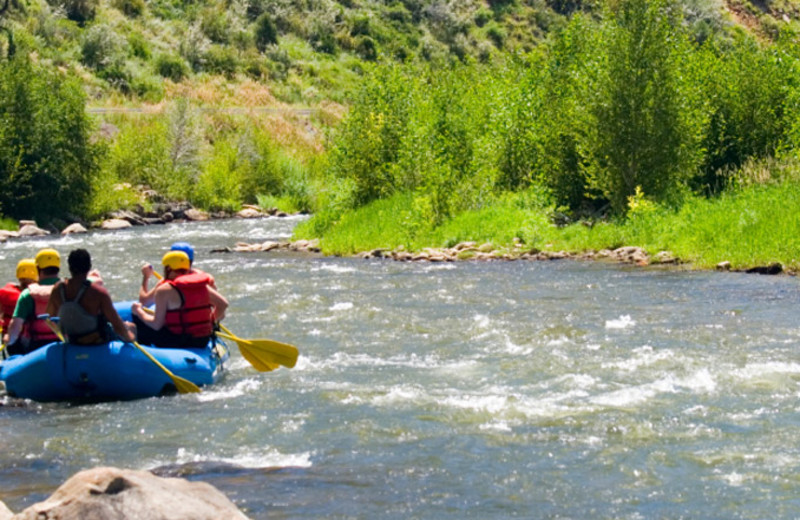 Rafting at Aspen Winds.