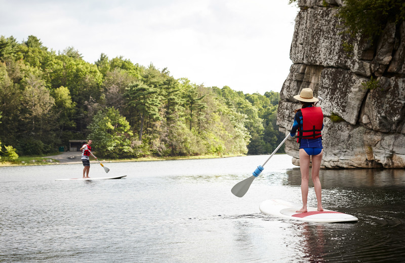 Paddle board at Mohonk Mountain House.