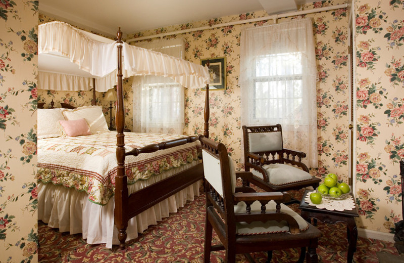Mrs. Quincy's room at The Rookwood Inn.