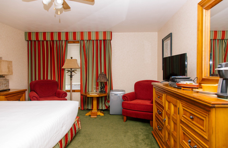 Courtyard Studio accommodation offering a well appointed room with all amenities you will need at Heather Lodge.