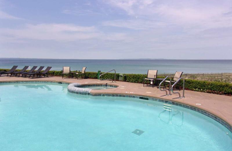 Rental pool at Holiday Vacation Rentals.