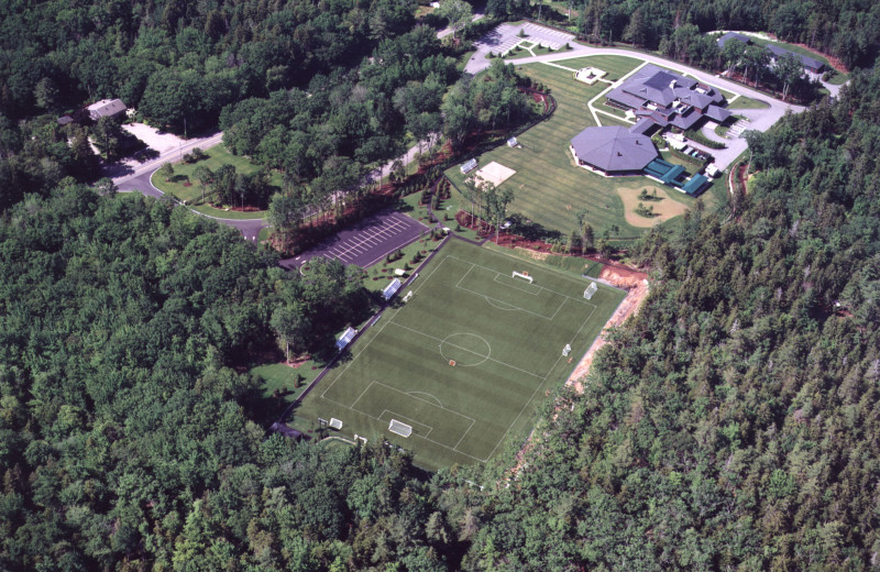 Aerial View of Point Lookout Resort and Conference Center