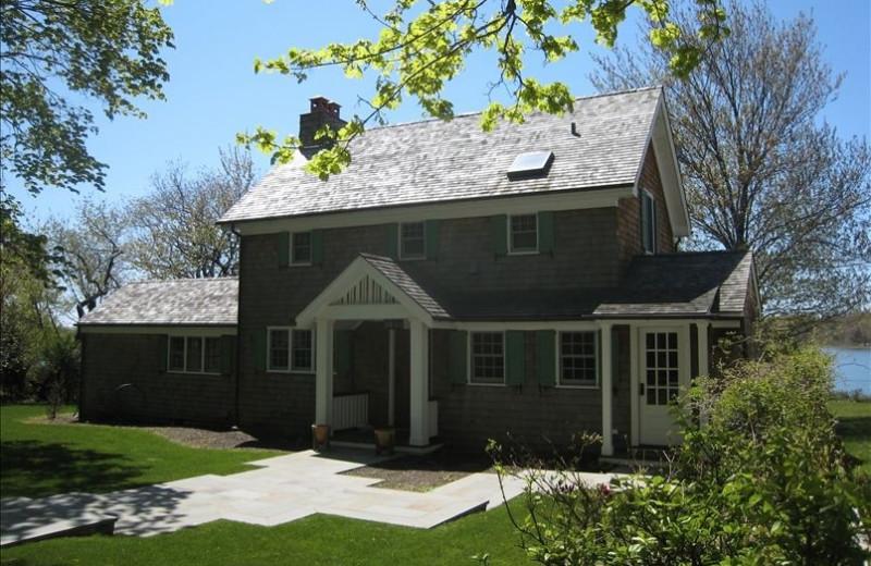Vacation rental exterior at Shorecrest Property Management & Real Estate.